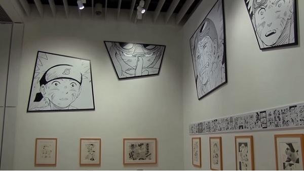 Naruto exhibition