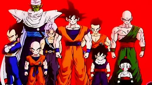 Dragon Ball Z, Gokue, Gohan, Vegeta, Trunks, Piccolo