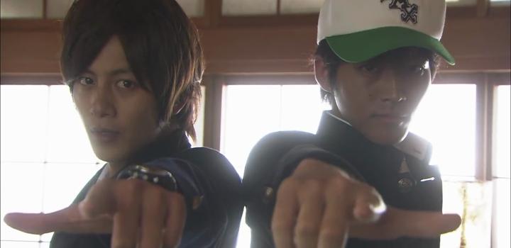 Detective Conan live action - Shinichi Kudo and Heiji Hattori