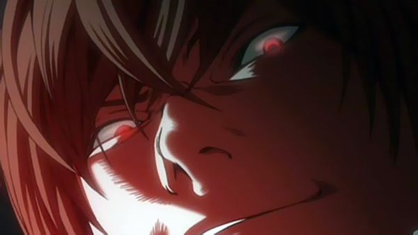 Death Note Light Yagami ruthless