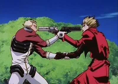 Trigun Vash the Stampede and Millions Knives