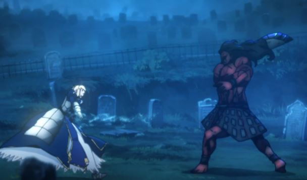 Fate/stay night, Saber, Berserker