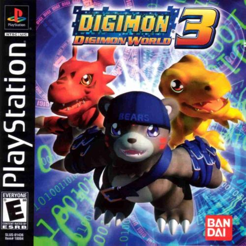 Digimon_Digimon World 3 video game