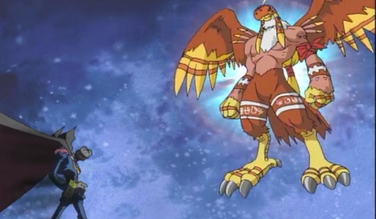 Digimon Crests Myotismon and Garudamon