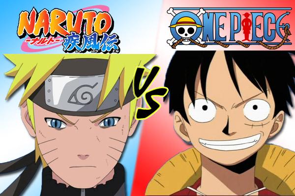 Naruto & One Piece, Naruto Uzumaki & Luffy Monkey D.