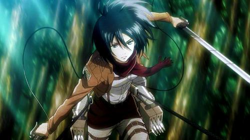 Mikasa Ackerman Shingeki no Kyojin Attack on Titan