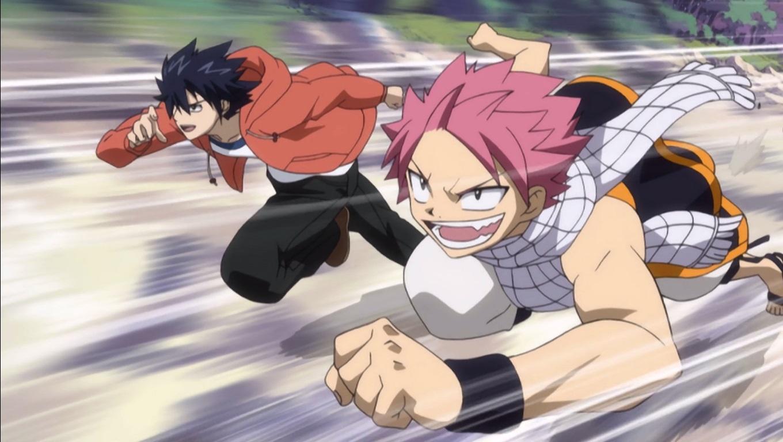 Fairy Tail Gray Fullbuster & Natsu Dragneel