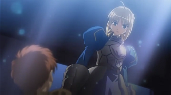 Fate stay night summon Saber