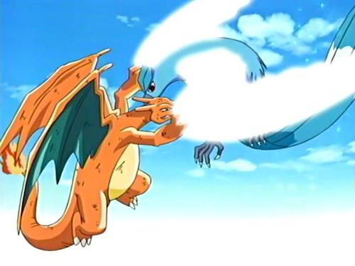 Pokemon vs. Digimon_Charizard vs. Articuno