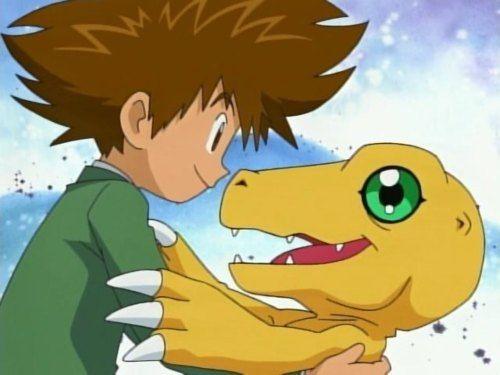 Pokemon vs. Digimon_Tai Yagami and Agumon