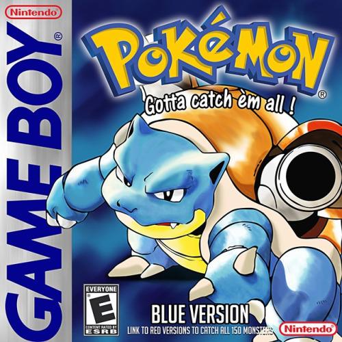 Pokemon vs. Digimon_Pokemon Blue