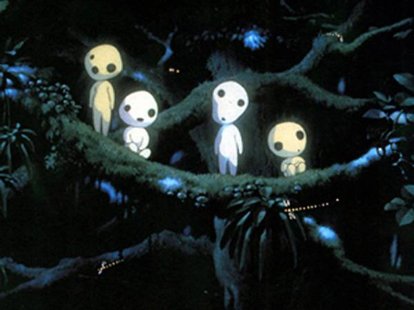Princess Mononoke And The Kodama Myanimelist Net