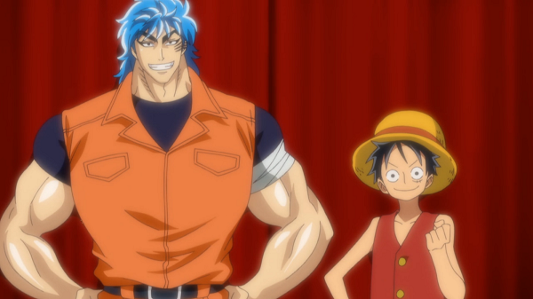 Toriko vs Luffy appearance