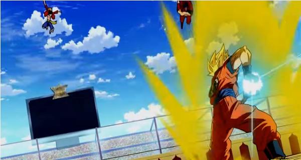 Toriko vs Goku fight