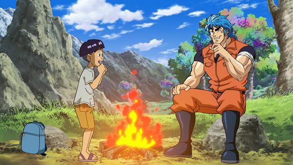 Toriko vs Goku apperance