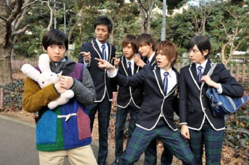 Ouran High School Host Club Live Action Drama cast actors