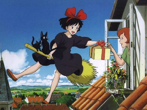 Hayao Miyazaki Kiki's Delivery Service