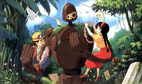 Hayao Miyazaki Tenkuu no Shiro Laputa