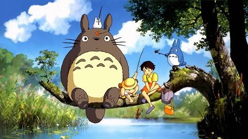 Hayao Miyazaki Tonari no Totoro