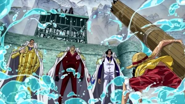 One Piece Three Admirals