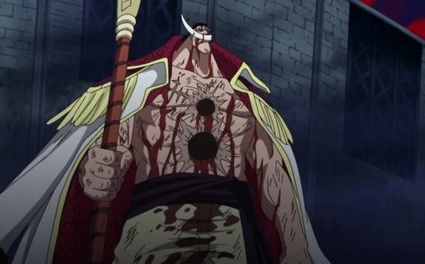 One Piece Edward Newgate Whitebeard's Death