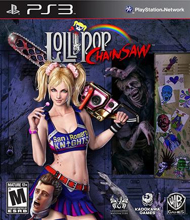 Highschool of the Dead Lollipop Chainsaw