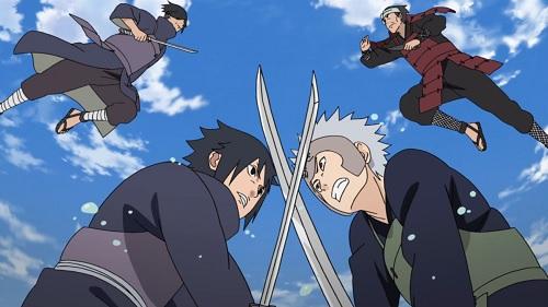 Naruto Shippuden Senju Clan vs. Uchiha Clan