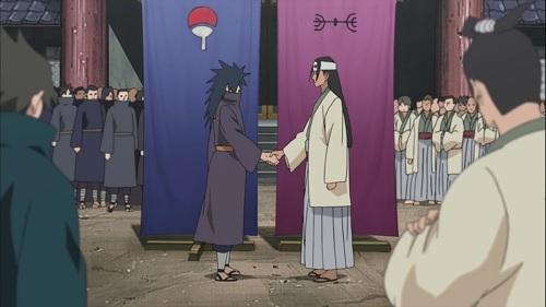 Naruto Shippuden Senju Clan and Uchiha Clan Alliance