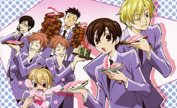 Best Food in Anime Ouran Koukou Host Club