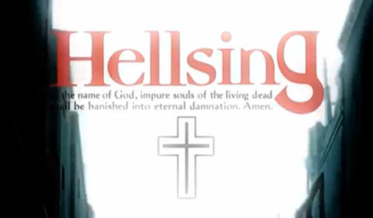 Hellsing opening title card