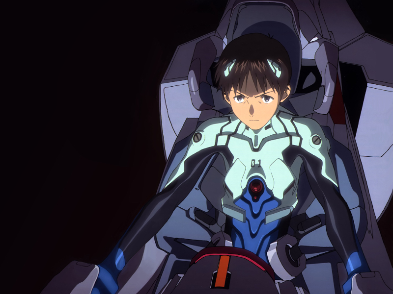 Neon Genesis Evangelion, Game, Shinji Ikari, EVA Unit 01