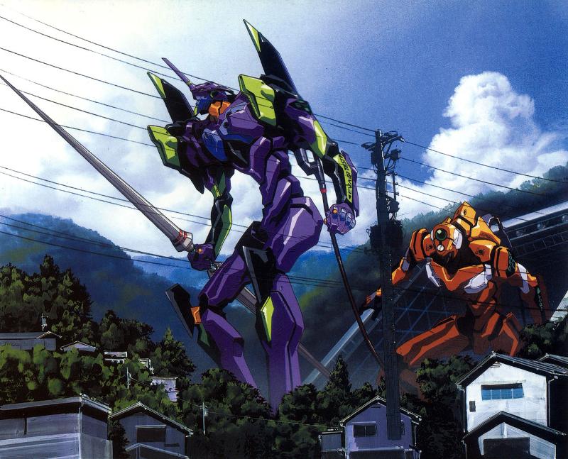 Neon Genesis Evangelion; Game; EVA Unit 01