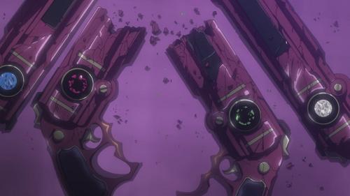 Bayonetta: Bloody Fate - Guns Destroyed