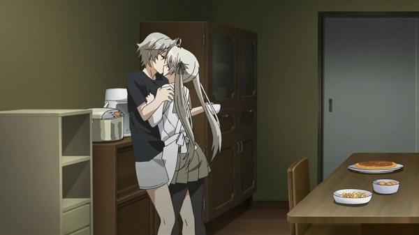 10 Kiss Moments Yosuga no Sora Sora Haruka
