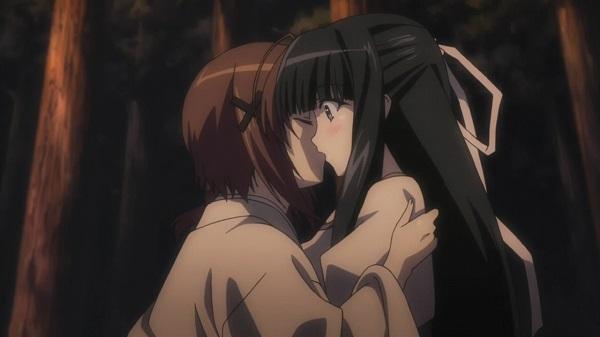 10 Kiss Moments Yosuga no Sora Akira Kazuha