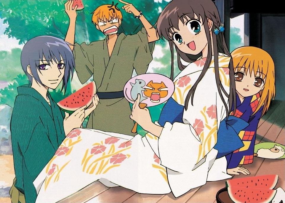 Fruits Basket family Honda Tohru