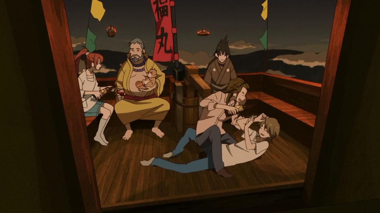 Uchouten Kazoku family