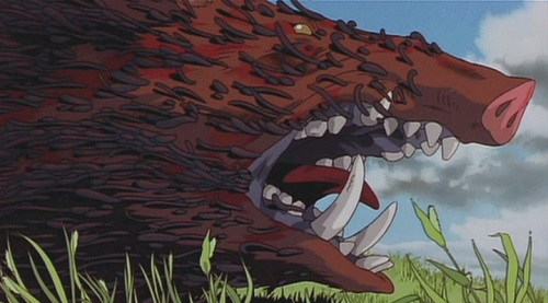 Wolf Deer And Other Animal Characters Of Princess Mononoke