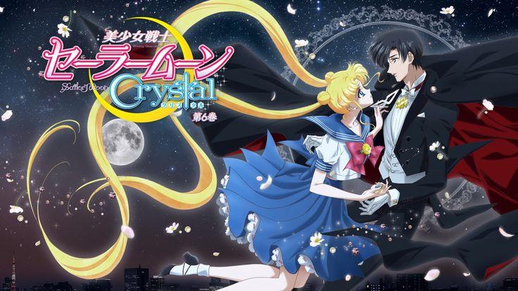 romantic couple sailor moon crystal