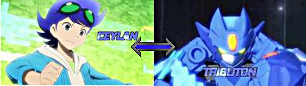 Ceylan as Tenkai Knight Tributon