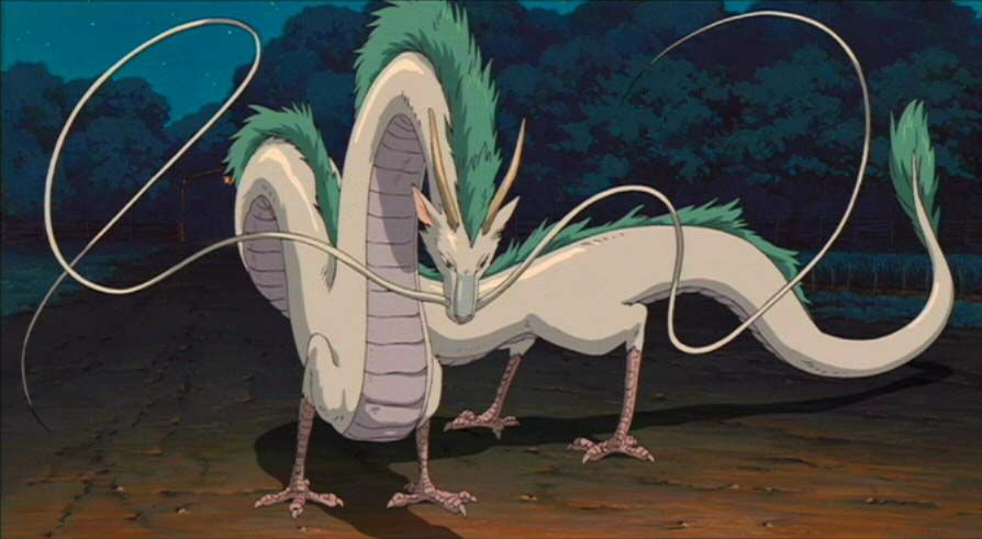 Spirited Away A Dragon S Tale Myanimelist Net