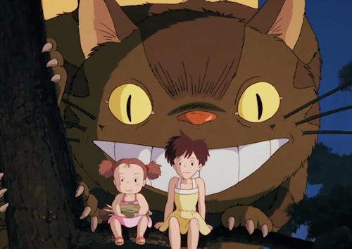 My Neighbor Totoro, Cat bus and Kusakabe Sisters