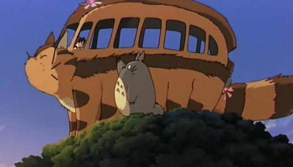 My Neighbor Totoro, Cat bus 3