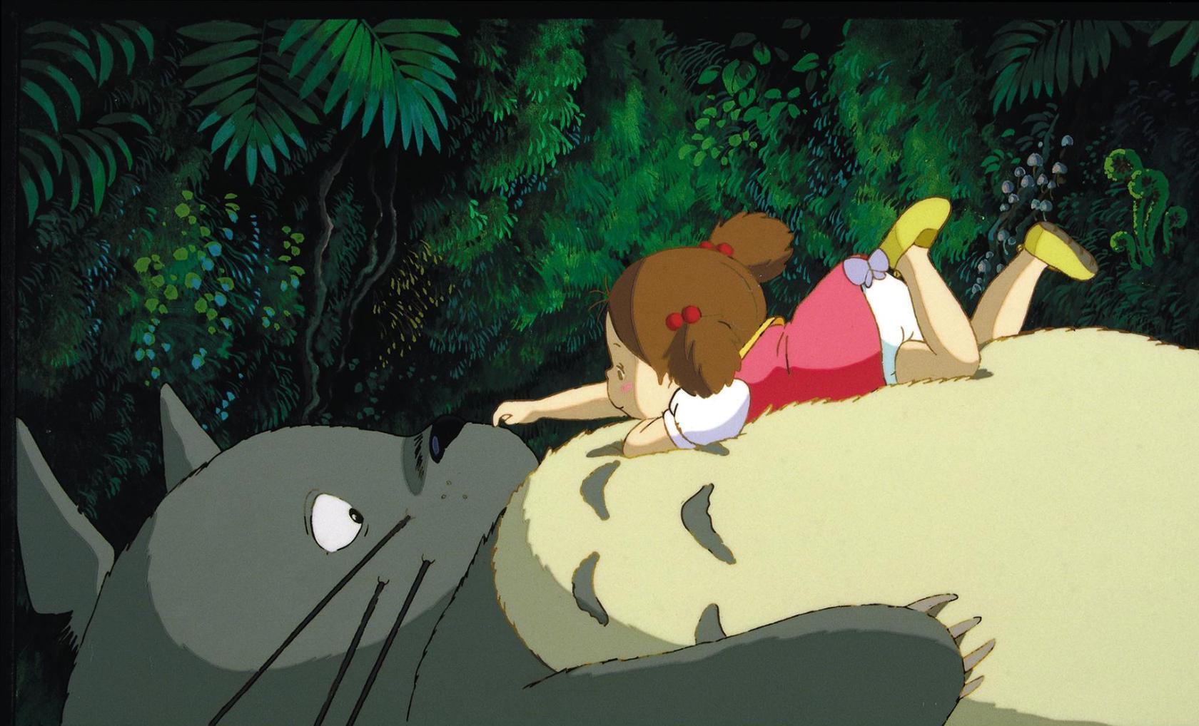 My Neighbor Totoro Totoro & Mei Kusakabe