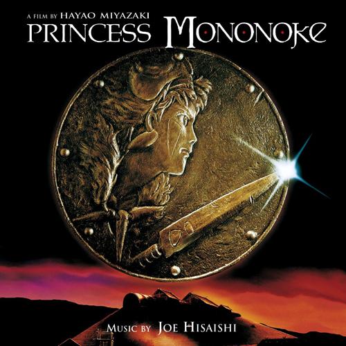 Princess Mononoke soundtrack album cover