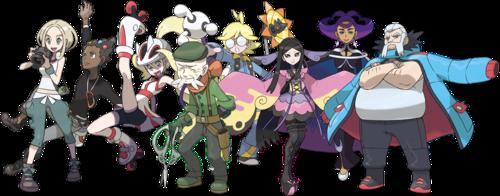 Pokemon XY_Kalos Gym Leaders