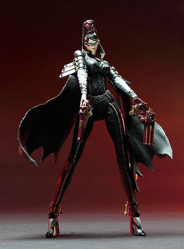 Play Arts Kai Bayonetta figure