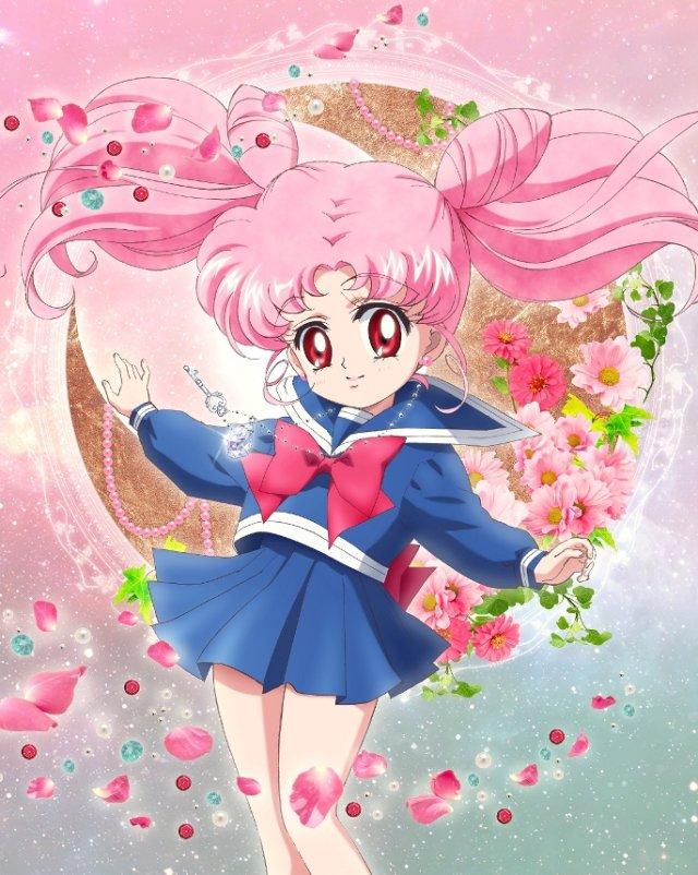 Chibiusa Sailor Moon Crystal