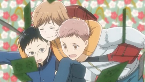 Chihayafuru, Arata Wataya, Chihaya Ayase, and Taichi Mashima