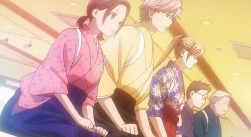 Chihayafuru, Kanade Ooe, Taichi Mashima, Chihaya Ayase, Tsutomu Kumano, and Yuusei Nishida